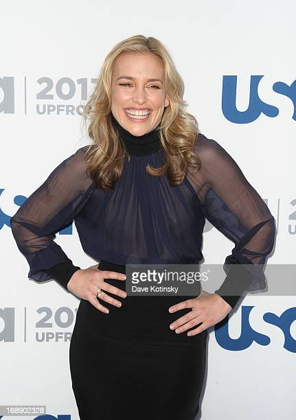 Piper Perabo attends USA Network 2013 Upfront Event at Pier 36 on May 16 2013 in New York City