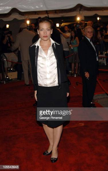 Piper Perabo during 2005 Toronto Film Festival Edison Premiere Red Carpet at Roy Thompson Hall in Toronto Ontario Canada