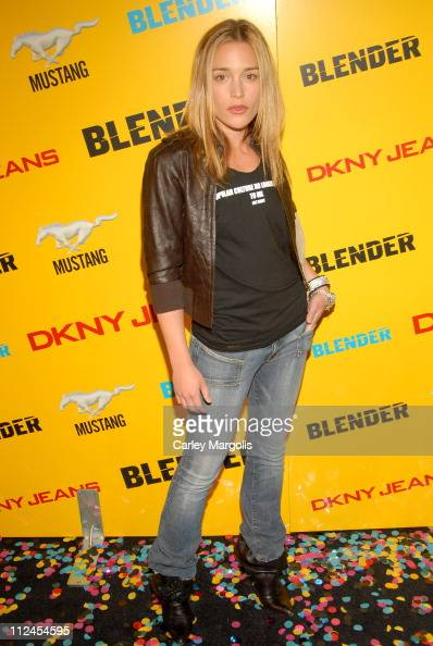 Piper Perabo during Blender Magazine 5th Anniversary Blowout at Studio 450 in New York City New York United States