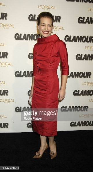 Piper Perabo during Glamour Magazine Salutes The 2005 Women of the Year Inside Arrivals at Avery Fisher Hall in New York City New York United States