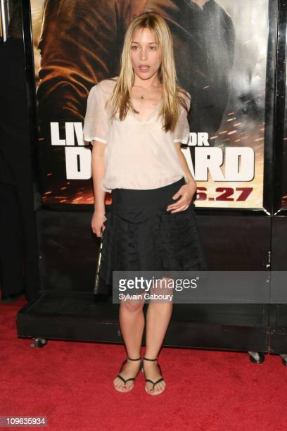 Piper Perabo during 'Live Free or Die Hard' New York City Primiere Arrivals at Radio City Music Hall at 1260 Avenue of the Americas in New York City...