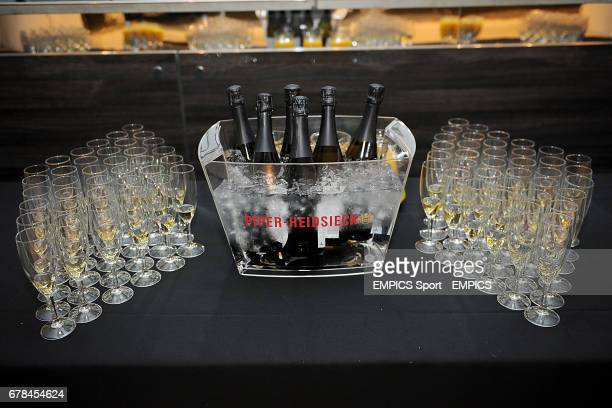 PiperHeidsieck champagne with flutes