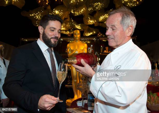 PiperHeidsieck Global Executive Director Benoit Collard and Master Chef Wolfgang Puck attend the 89th Annual Academy Awards Governors Ball Preview at...
