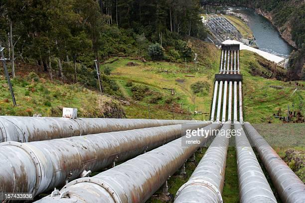 AUFGEPUMT-Aufbewahrung power plant