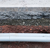 Pipes Under The Road Surface
