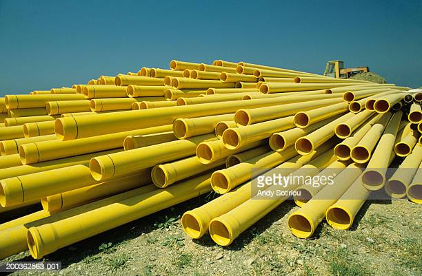 PVC piping for house construction, Spain