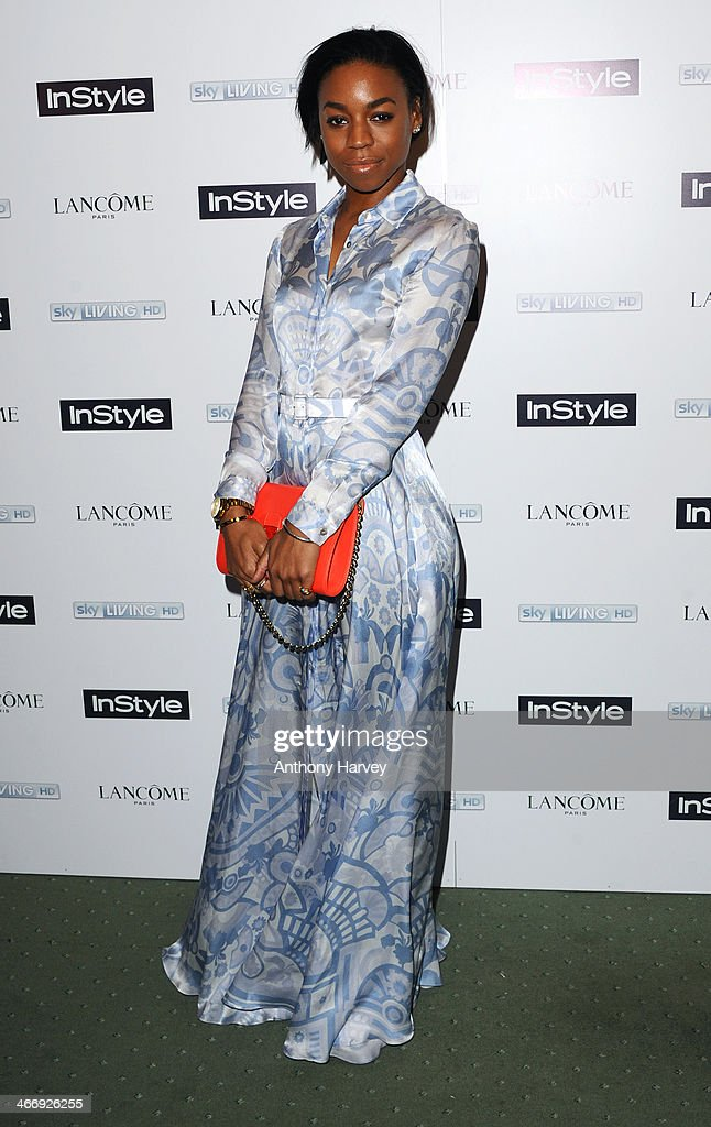 Pippa Bennett-Warner attends InStyle magazine's The Best of British Talent pre-BAFTA party at Dartmouth House on February 4, 2014 in London, England.