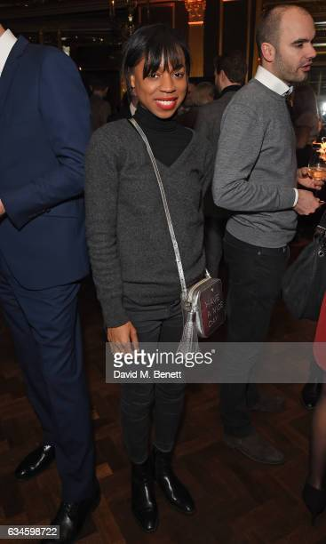 Pippa BennettWarner attends The Rake 50th issue party at Hotel Cafe' Royal on February 10 2017 in London England