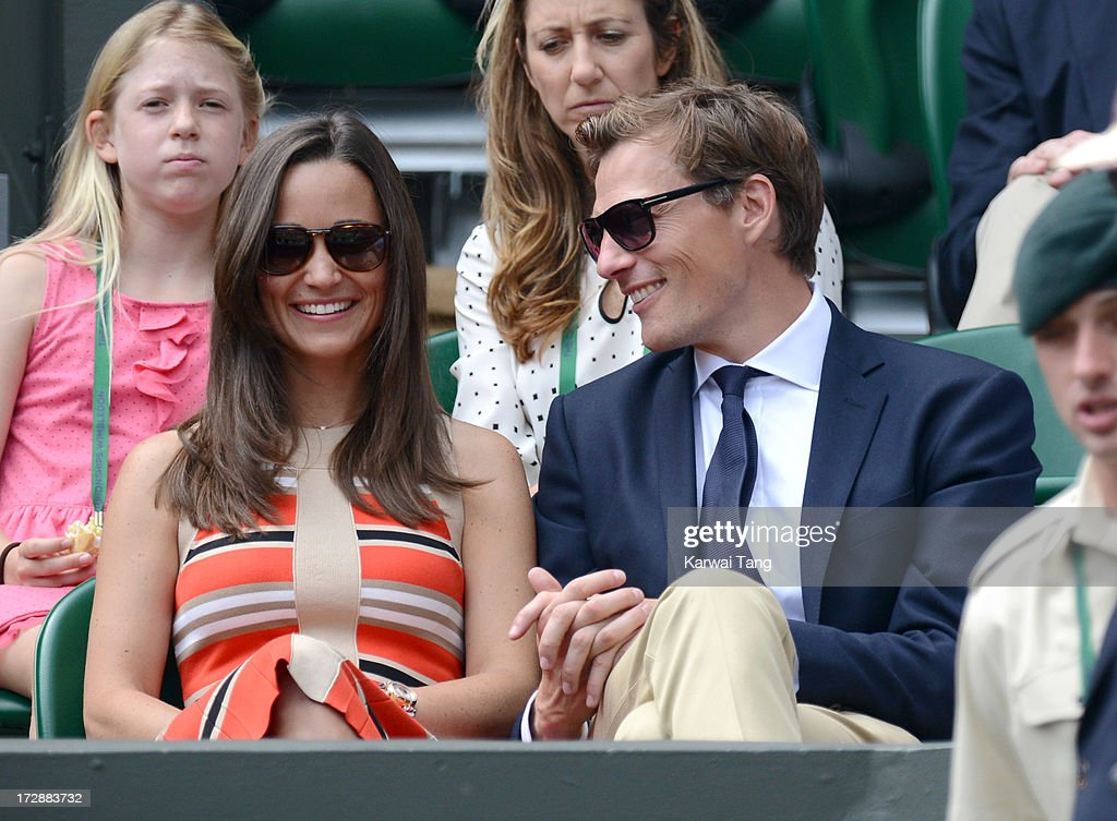 <a gi-track='captionPersonalityLinkClicked' href=/galleries/search?phrase=Pippa+Middleton&family=editorial&specificpeople=4289296 ng-click='$event.stopPropagation()'>Pippa Middleton</a> and Nico Jackson attend Day 11 of the Wimbledon Lawn Tennis Championships at the All England Lawn Tennis and Croquet Club on July 5, 2013 in London, England.