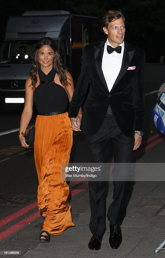 <a gi-track='captionPersonalityLinkClicked' href=/galleries/search?phrase=Pippa+Middleton&family=editorial&specificpeople=4289296 ng-click='$event.stopPropagation()'>Pippa Middleton</a> and Nico Jackson attend the Boodles Boxing Ball at the Grosvenor House Hotel on September 21, 2013 in London, England.