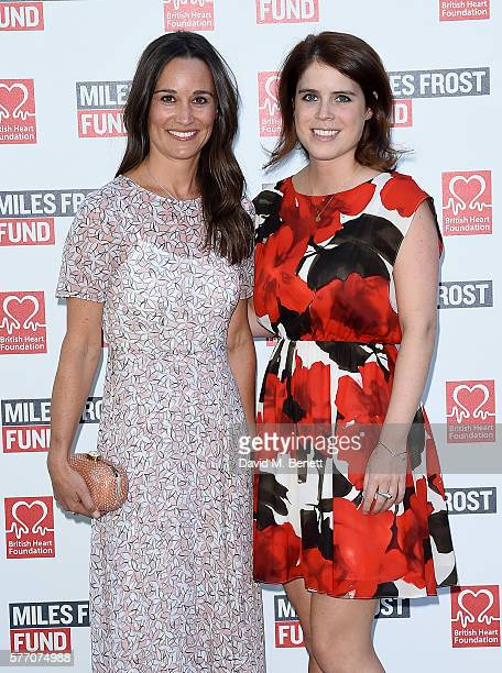 Pippa Middleton and Princess Eugenie attend The Frost family final Summer Party to raise money for the Miles Frost Fund in partnership with the...