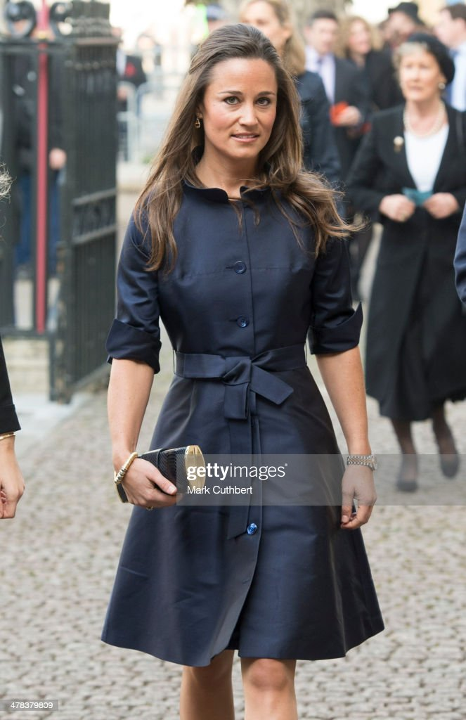<a gi-track='captionPersonalityLinkClicked' href=/galleries/search?phrase=Pippa+Middleton&family=editorial&specificpeople=4289296 ng-click='$event.stopPropagation()'>Pippa Middleton</a> attends a memorial service for Sir David Frost at Westminster Abbey on March 13, 2014 in London, England.