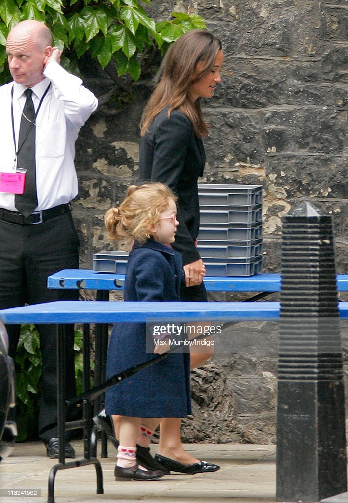 Pippa Middleton Attends A Rehearsal For Prince William And Catherine S Wedding At Westminster Abbey On