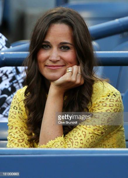 Pippa Middleton attends Day Ten of the 2012 US Open at USTA Billie Jean King National Tennis Center on September 5 2012 in the Flushing neighborhood...