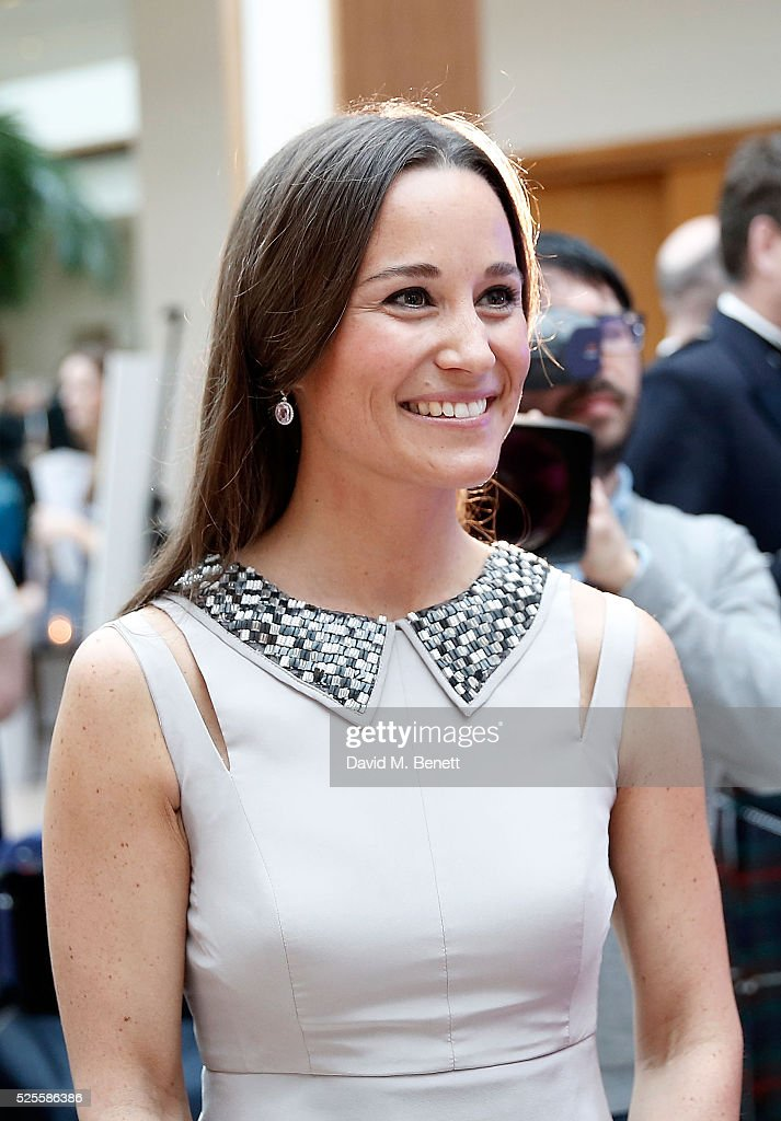 Pippa Middleton attends Disability Snowsport UK ParaSnowBall 2016 sponsored by Crystal Ski Holidays and Salomon, at The Hurlingham Club on April 28, 2016 in London, England.