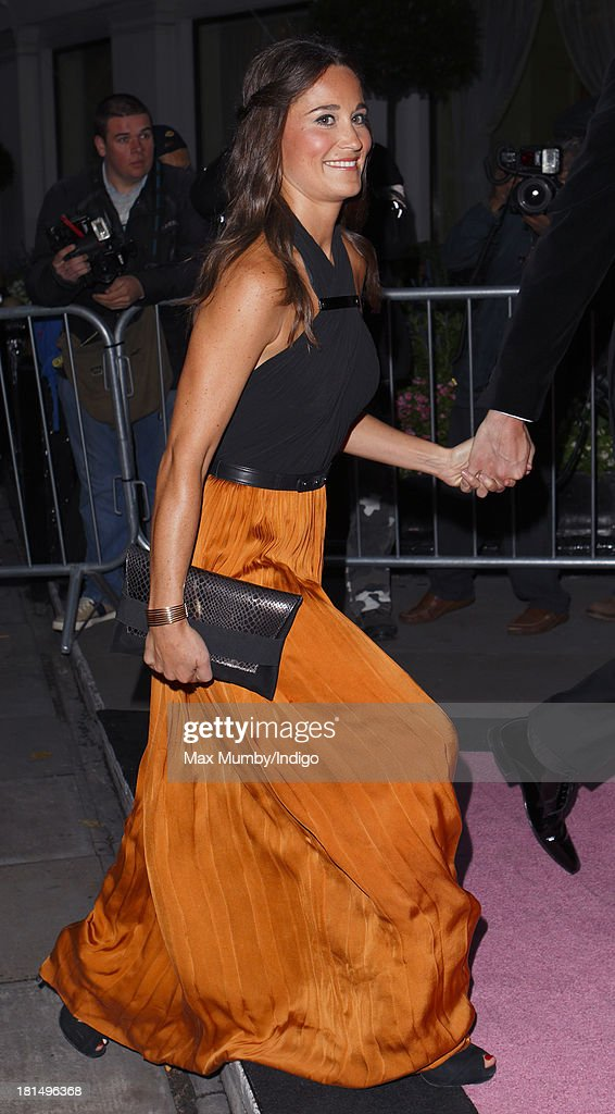 <a gi-track='captionPersonalityLinkClicked' href=/galleries/search?phrase=Pippa+Middleton&family=editorial&specificpeople=4289296 ng-click='$event.stopPropagation()'>Pippa Middleton</a> attends the Boodles Boxing Ball at the Grosvenor House Hotel on September 21, 2013 in London, England.
