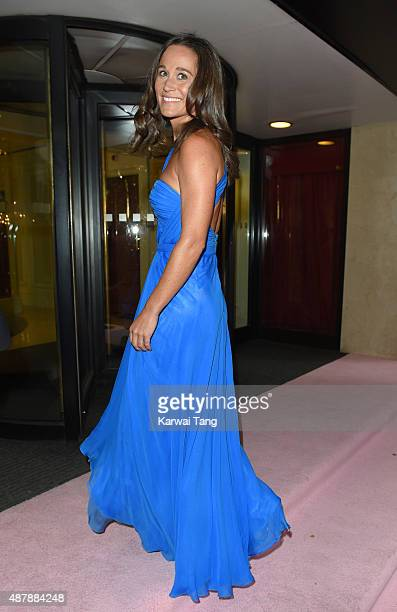 Pippa Middleton attends the Boodles Boxing Ball at The Grosvenor House Hotel on September 12 2015 in London England