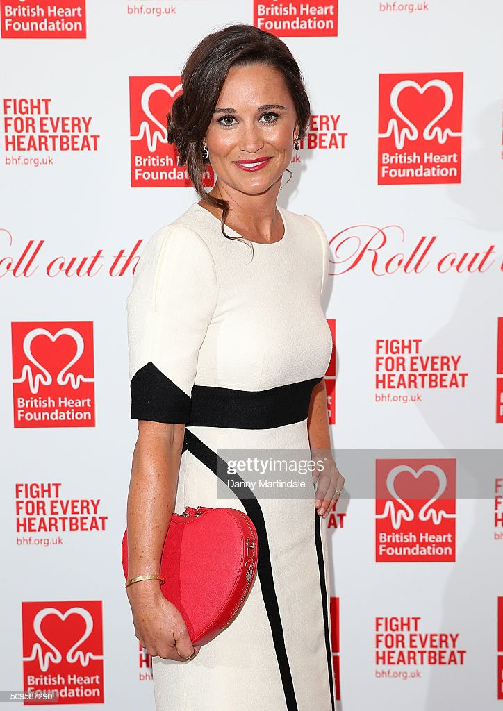 <a gi-track='captionPersonalityLinkClicked' href=/galleries/search?phrase=Pippa+Middleton&family=editorial&specificpeople=4289296 ng-click='$event.stopPropagation()'>Pippa Middleton</a> attends the British Heart Foundation: Roll Out The Red Ball at The Savoy Hotel on February 11, 2016 in London, England.