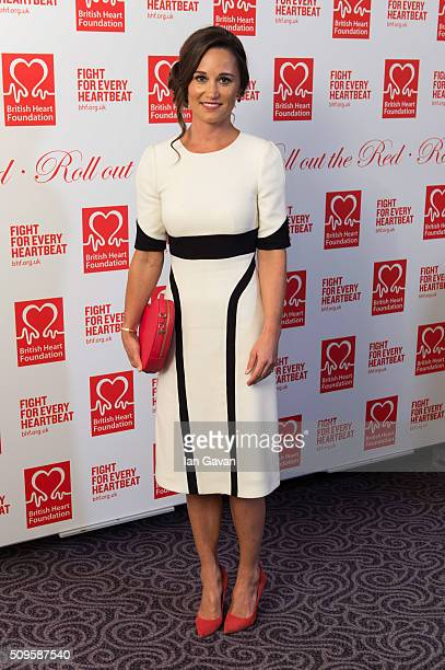 Pippa Middleton attends the British Heart Foundation Roll Out The Red Ball at The Savoy Hotel on February 11 2016 in London England