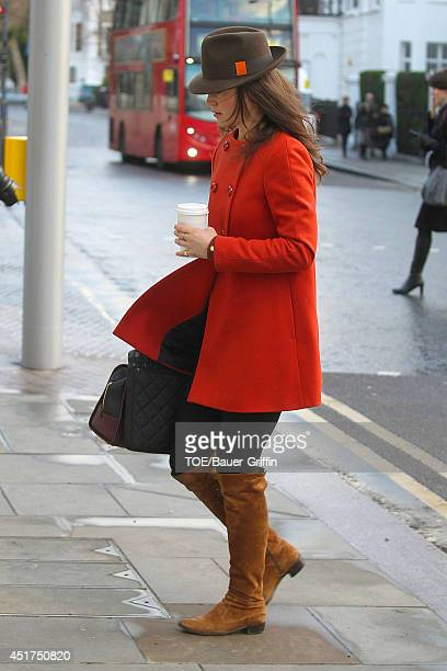 Pippa Middleton is seen on January 05 2012 in London United Kingdom