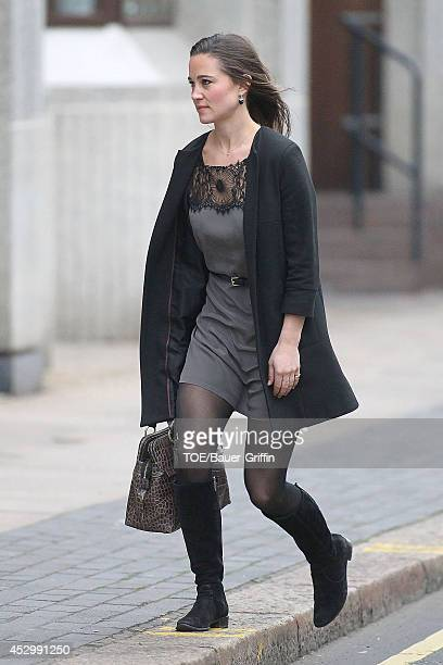 Pippa Middleton is seen on January 12 2012 in London United Kingdom