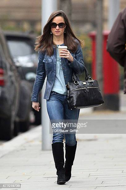 Pippa Middleton is seen on November 15 2012 in London United Kingdom