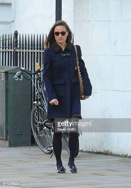 Pippa Middleton is seen on October 09 2012 in London United Kingdom