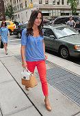 Pippa Middleton is seen on the upper east side of Manhattan on September 5 2012 in New York City