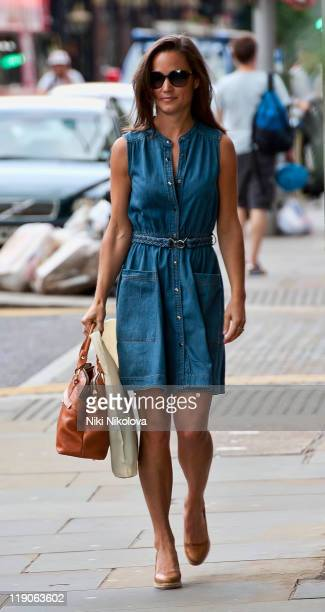 Pippa Middleton sighting on July 14 2011 in London England