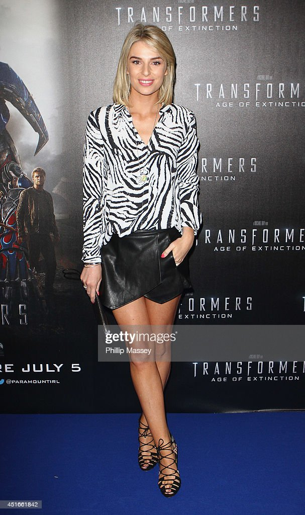 Pippa O'Connor attends the Irish Premiere of 'Transformers 4: Age of Extinction' at Savoy Cinema on July 3, 2014 in Dublin, Ireland.