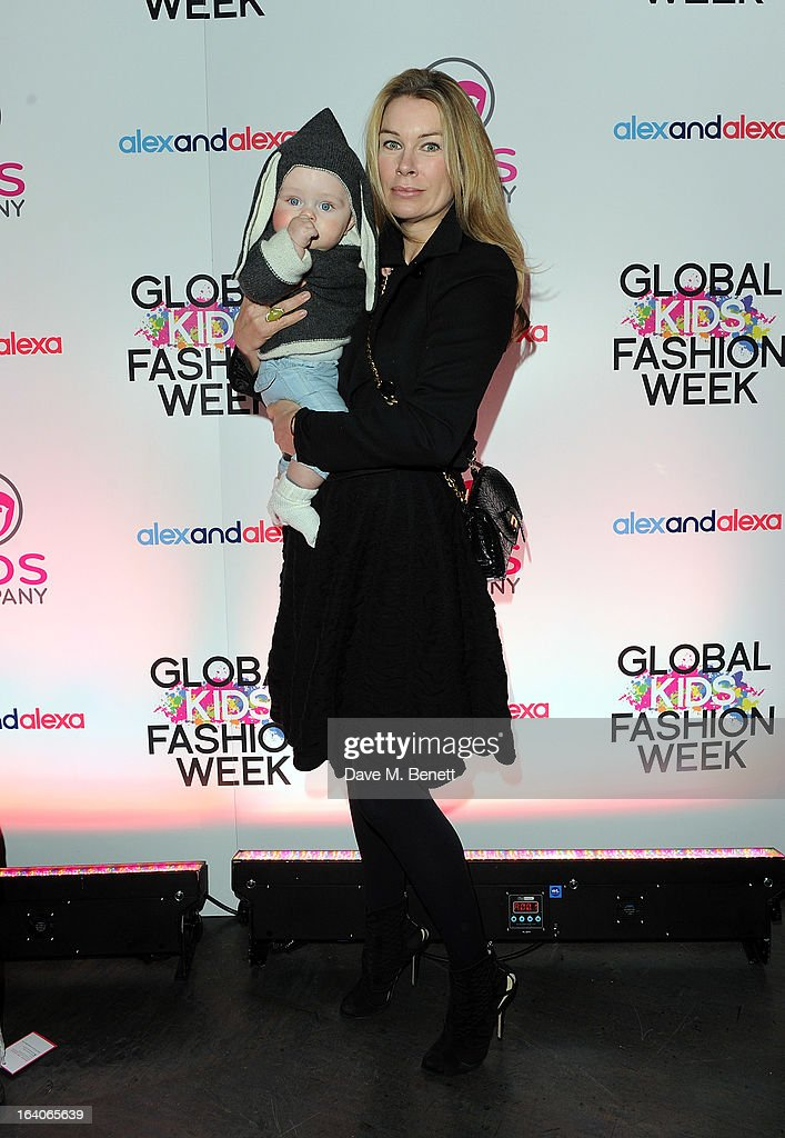 Pippa Vosper arrives for the Global Kids Fashion Week AW13 media and VIP show at The Freemason's Hall on March 19, 2013 in London, England.