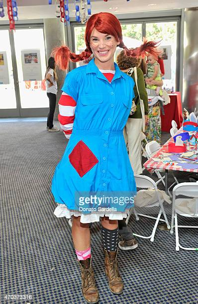 Pippi Longstocking is seen at Milk Bookies 6th Annual Story Time Celebration on April 19 2015 in Los Angeles California