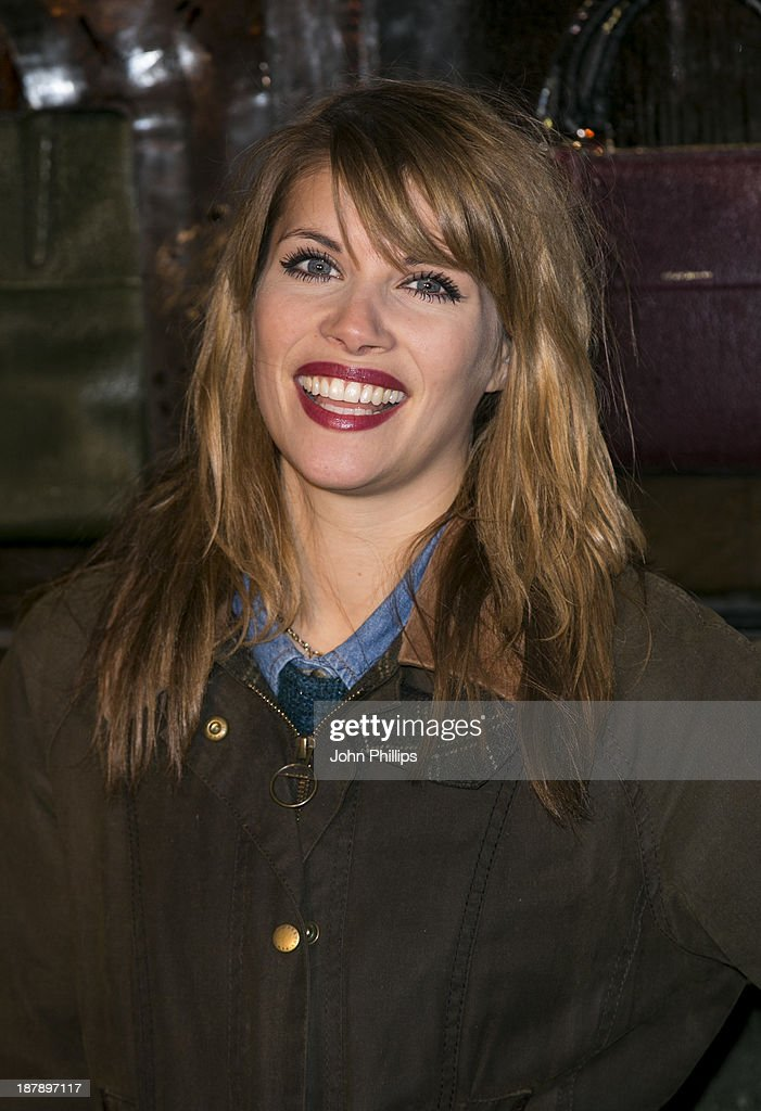 Pips Taylor attends the launch of Skate at Somerset House on November 13, 2013 in London, England.