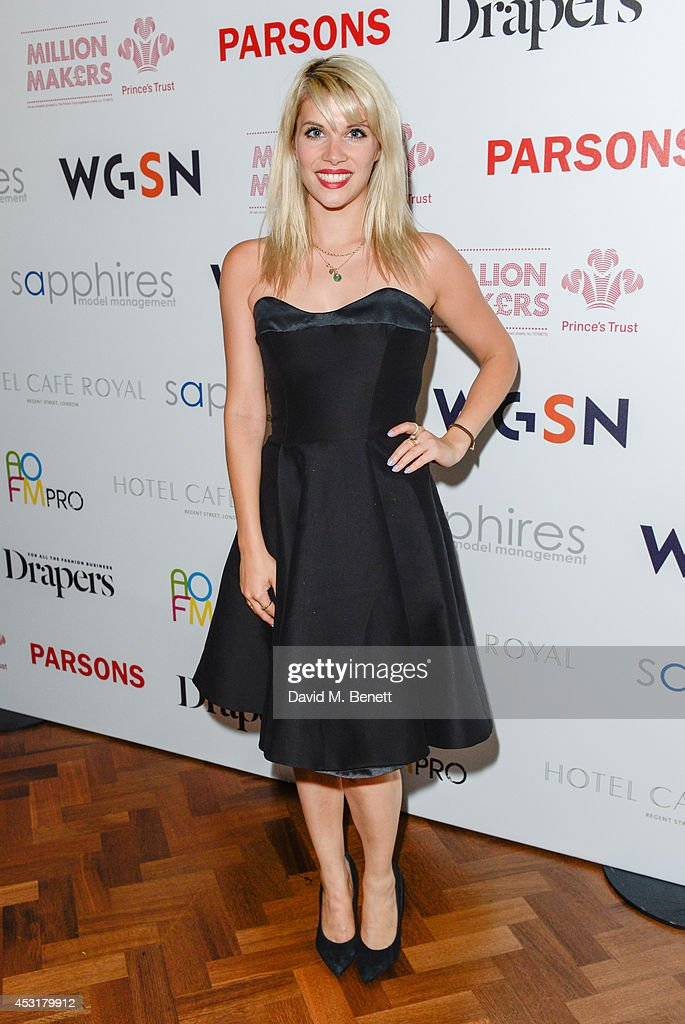 Pips Taylor attends the VIP charity event, which Drapers and WGSN Group, partnered with Parsons The New School for Design and the British Fashion Council to hold, in aid of the Prince's Trust Million Makers on August 4, 2014 in London, England. The event saw the launch the acclaimed book 'The School of Fashion: 30 Parsons Designers' by Simon Collins, Dean of Fashion at Parsons. The richly-illustrated volume explores the legacy of Parsons through the testimony of its brightest alumni, with interviews and sketches from Donna Karan, Alexander Wang, Jack McCullough and Lazaro Hernandez of Proenza Schouler, and many others.