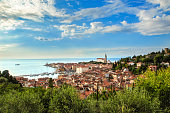 The city called Piran is located in Slovenia, Europe.