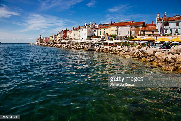 Piran waterfront, Adriatic Sea, Slovenia