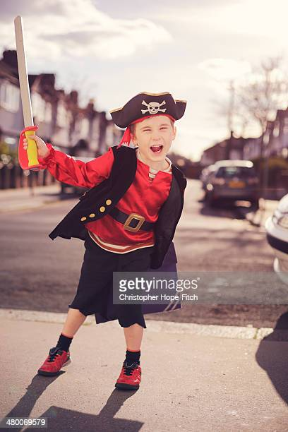 Pirate back from school
