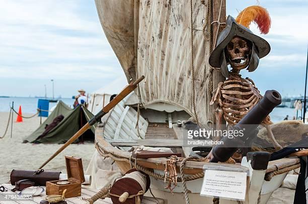 Pirate exhibit at Pirate Invasion festival