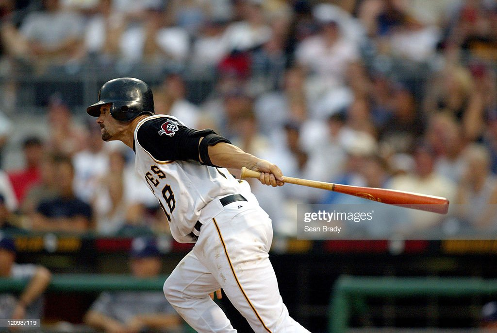 Pirate Jason Kendall at PNC Park in Pittsburgh, Pennsylvania July 3, 2004