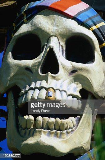 Pirate skull from Treasure Island Hotel and Casino.