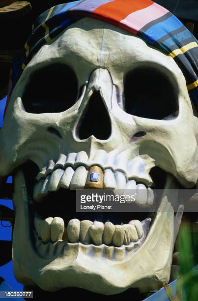 Pirate skull from Treasure Island Hotel and Casino.
