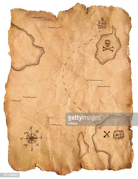 Carte au trésor de Pirate