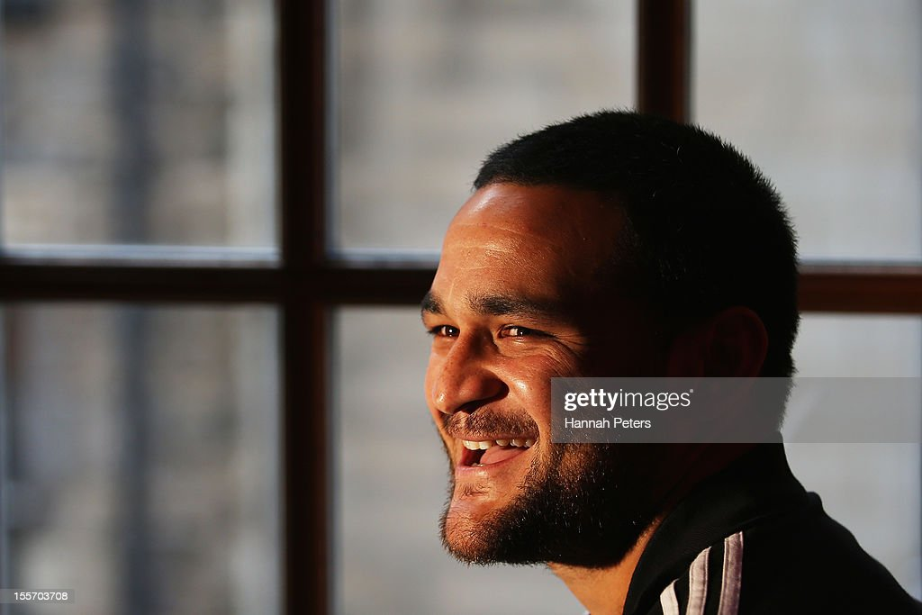 New Zealand All Blacks Training And Press Conference