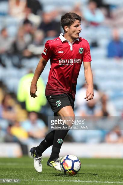 Pirmin Schwegler of Hannover 96 during the PreSeason Friendly between Burnley and Hannover 96 at Turf Moor on August 5 2017 in Burnley England