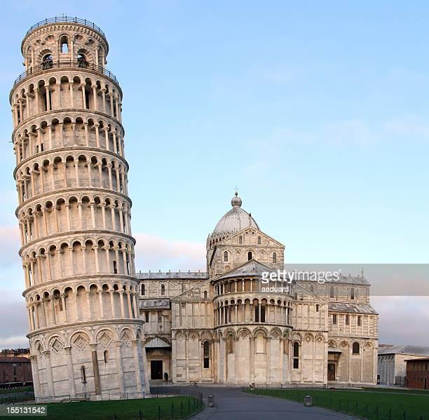 Pisa-Schiefer Turm und der Kathedrale
