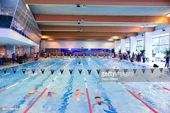 Piscine stock photos and pictures getty images - Piscine municipale de courbevoie ...