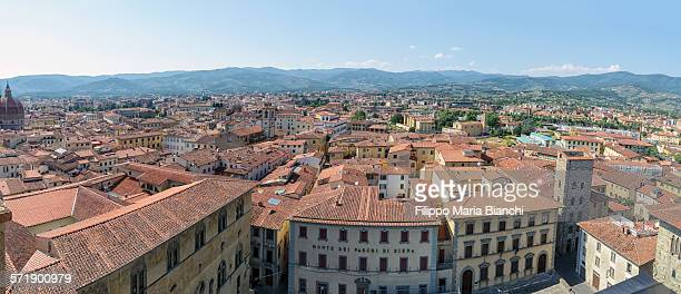 Pistoia seen from above