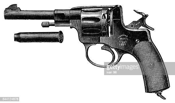 Pistol Nagant Revolver