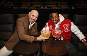 Pitbull And Nick Cannon Celebrate The Grand Opening Of...