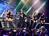 Pitbull perfoms at Pitbull's New Years Eve Revolution 2016 at Bayfront Park Amphitheater on December 31 2015 in Miami Florida